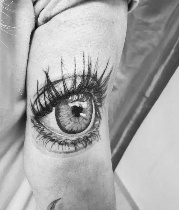 Tattoo Realistisch Auge
