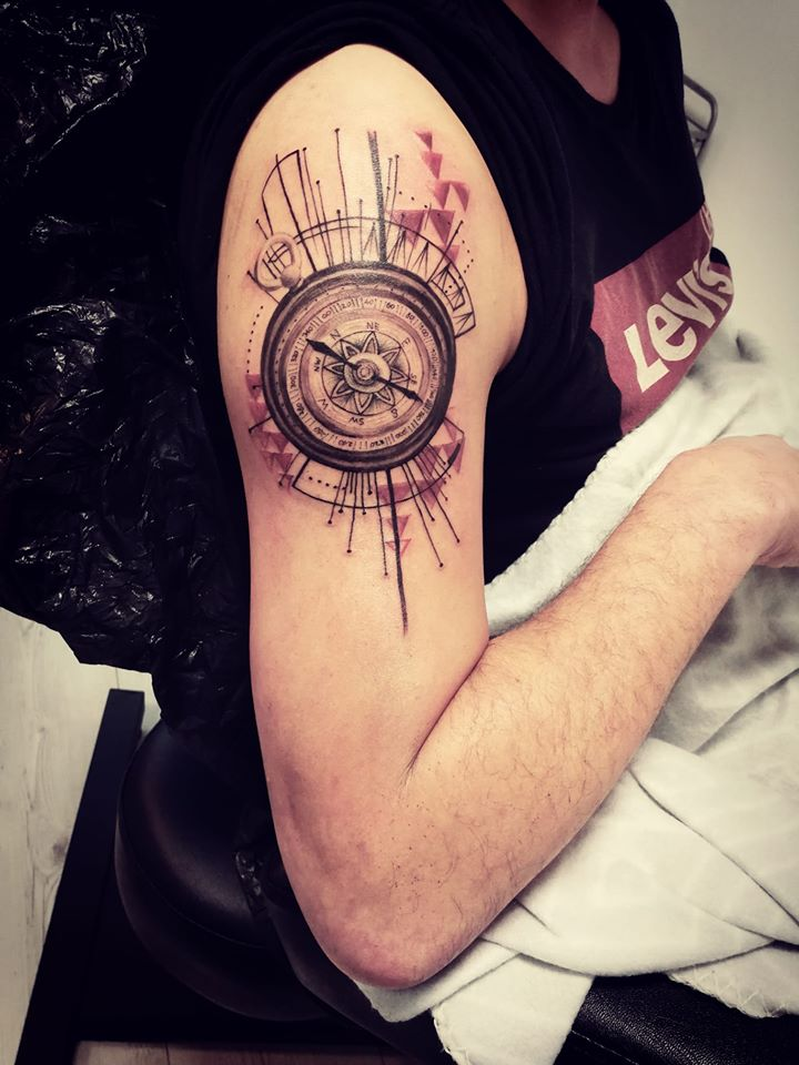 compass_tattoo