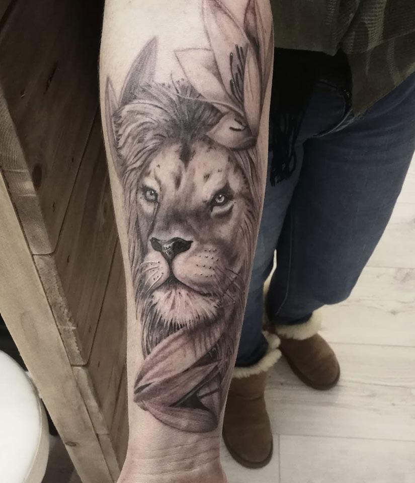 tattoo_lion